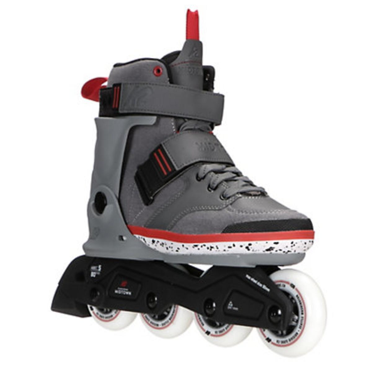 Kolieskové korčule K2 MIDTOWN sivé