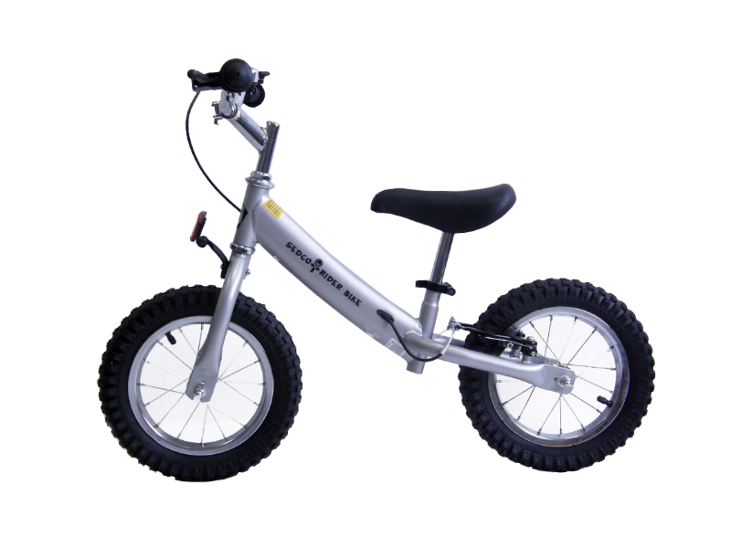 Detské odrážadlo SEDCO Rider Bike - strieborné