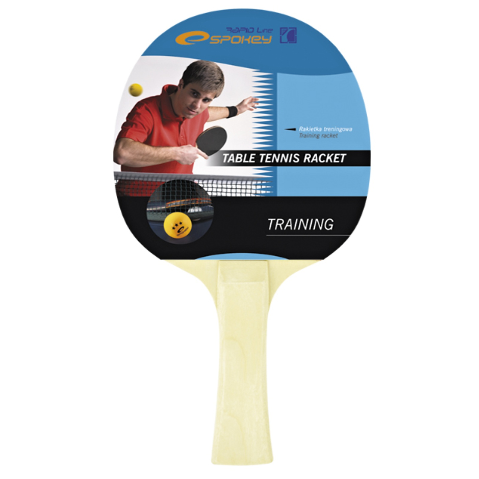 Raketa na stolný tenis SPOKEY Training