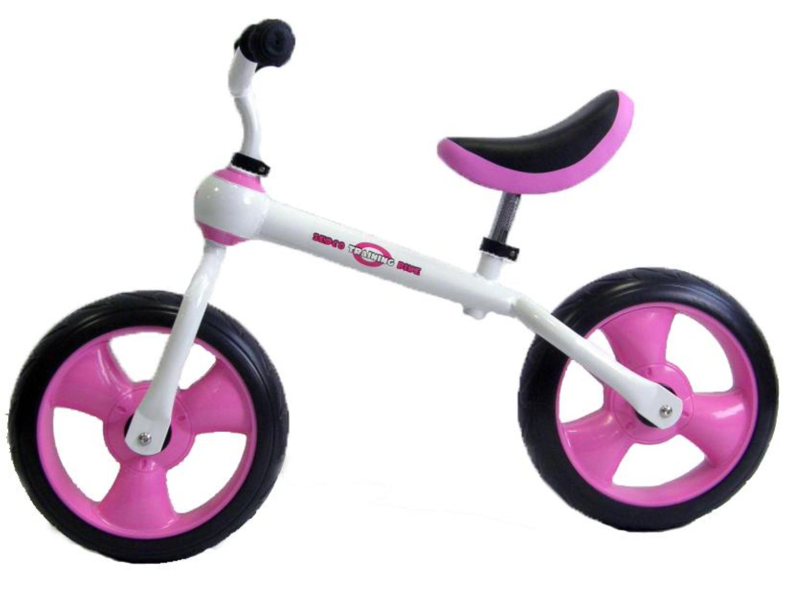Detské odrážadlo SEDCO Training Bike - ružové