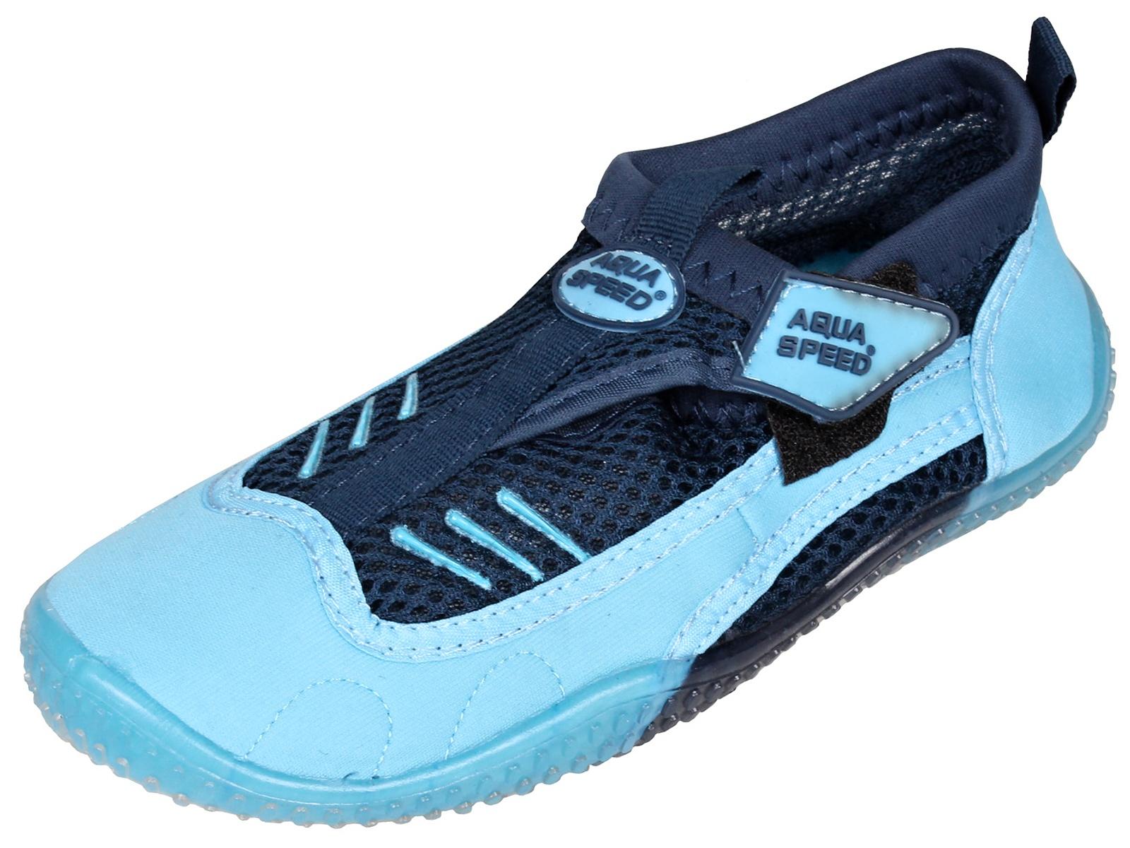 Topánky do vody AQUA-SPEED 7A modré - veľ. 45