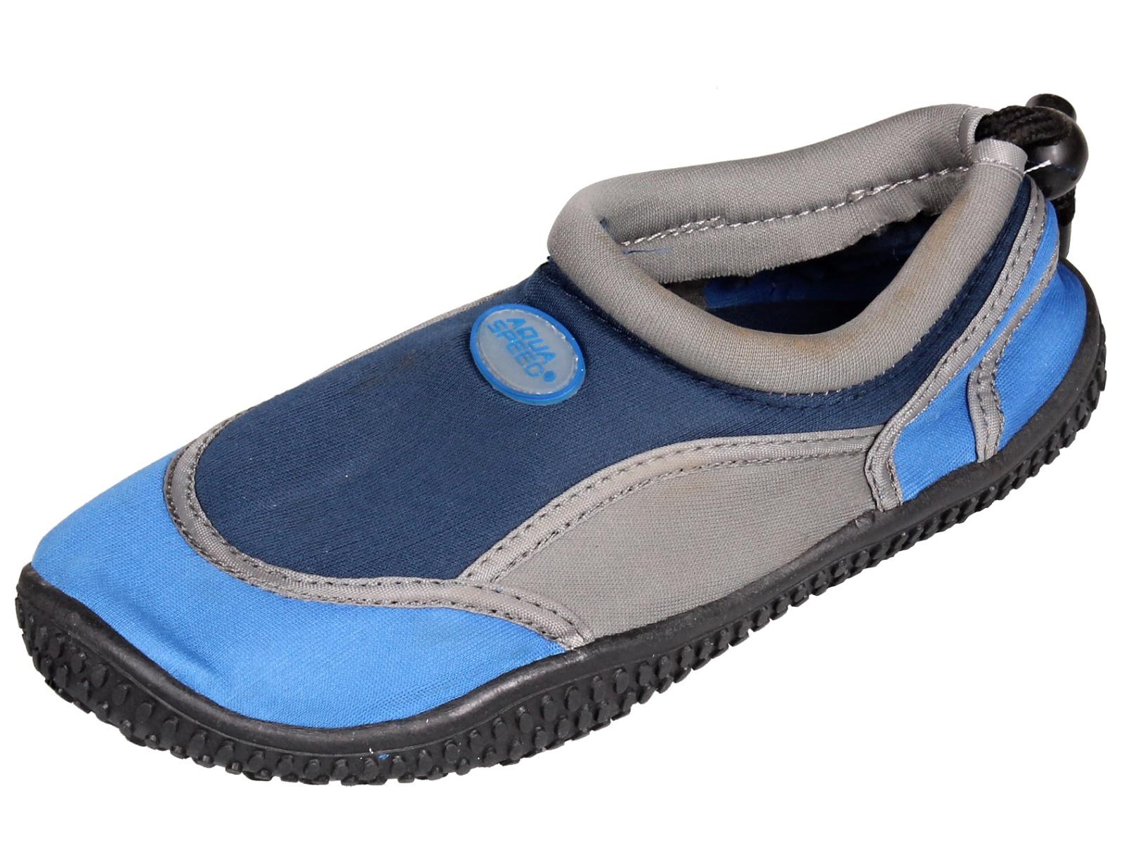 Topánky do vody AQUA-SPEED 21A detské modré - veľ. 30