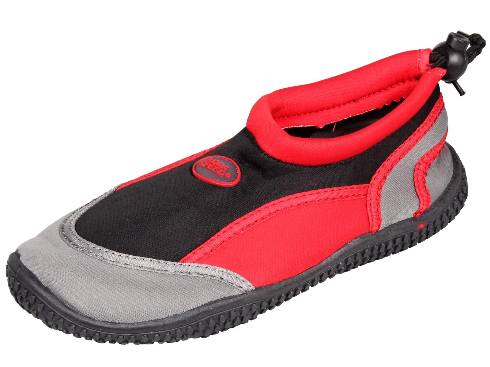 Topánky do vody AQUA-SPEED 21B detské čierne - veľ. 29