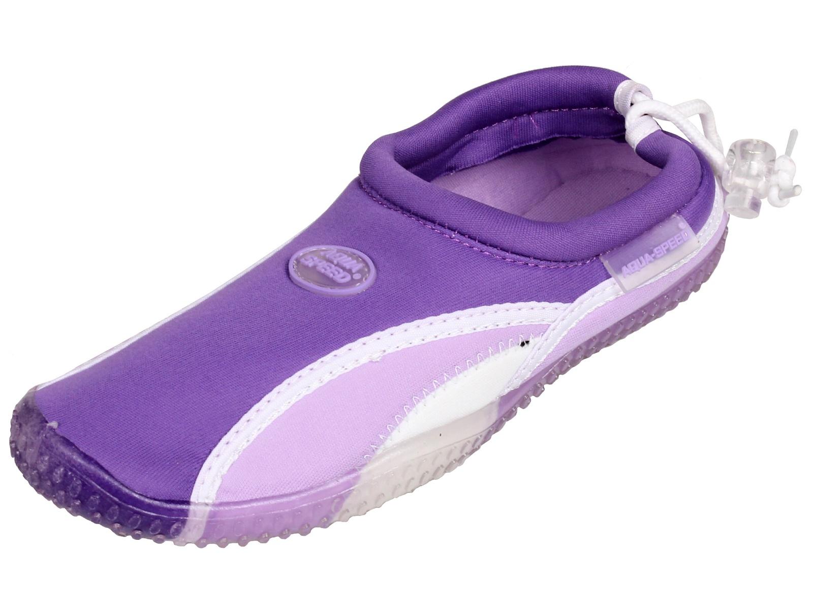 b9bb3405ef65e Topánky do vody AQUA-SPEED 12B fialové - veľ. 36