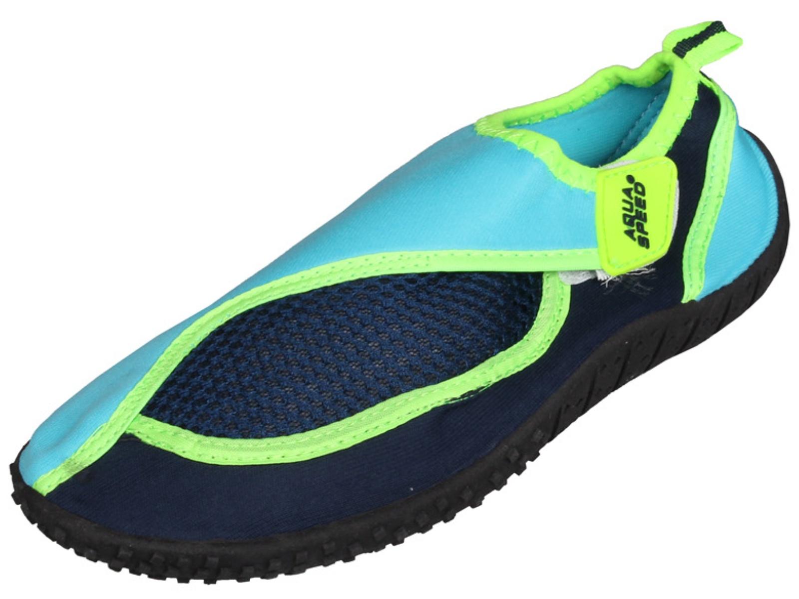 6ff5b18261 Topánky do vody AQUA-SPEED 26B detské modré - veľ. 23