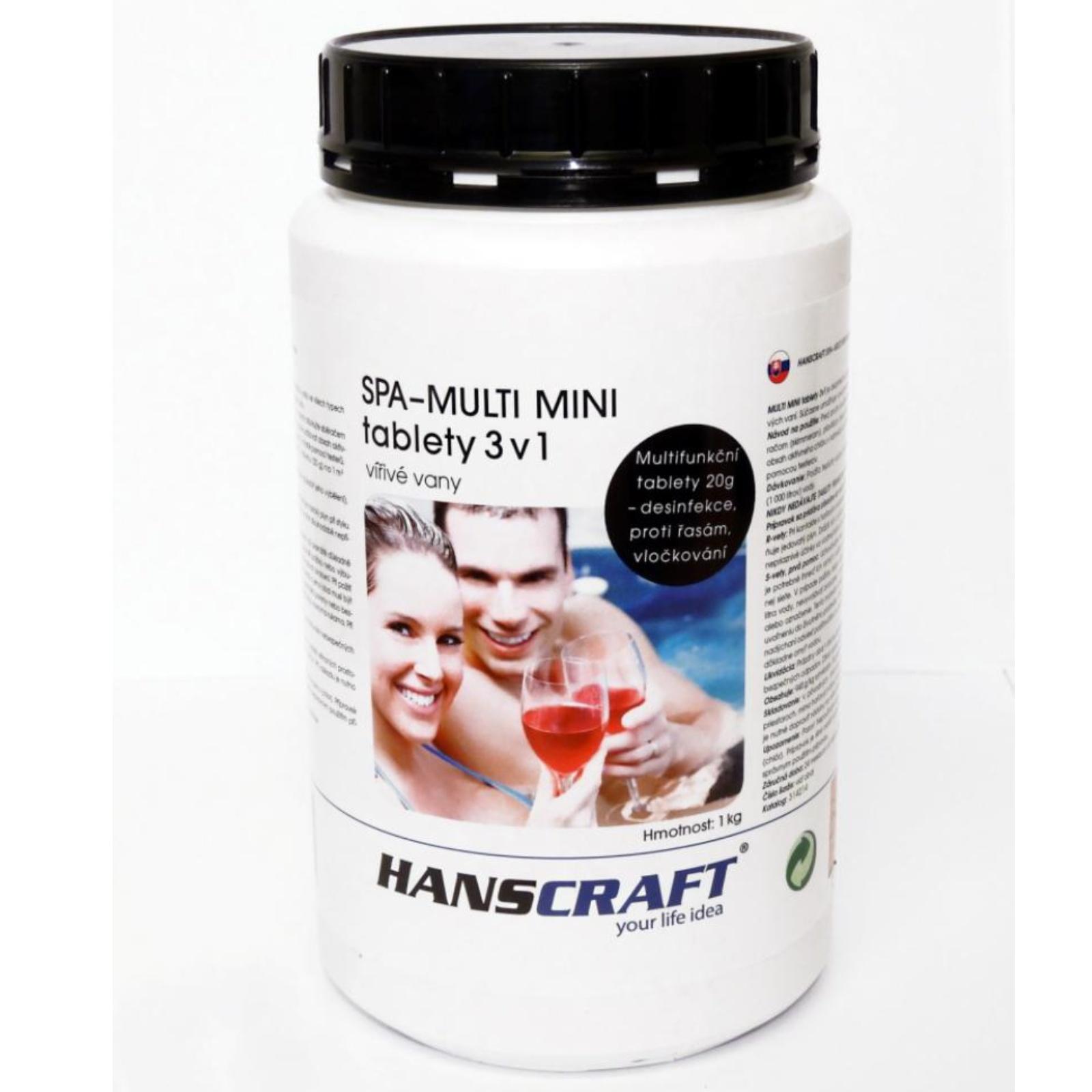 Chémia pre vírivky HANSCRAFT SPA - Multi mini tablety 3 v 1