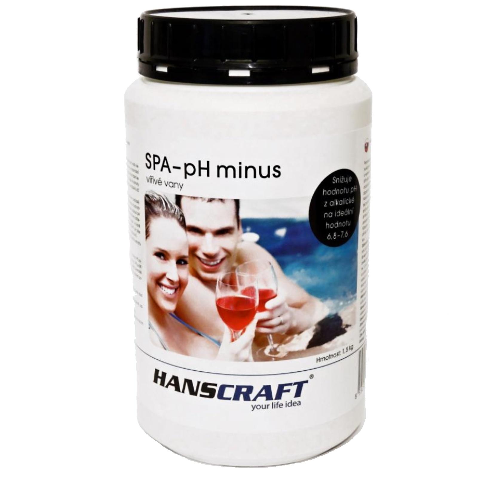 Chémia pre vírivky HANSCRAFT SPA - pH mínus