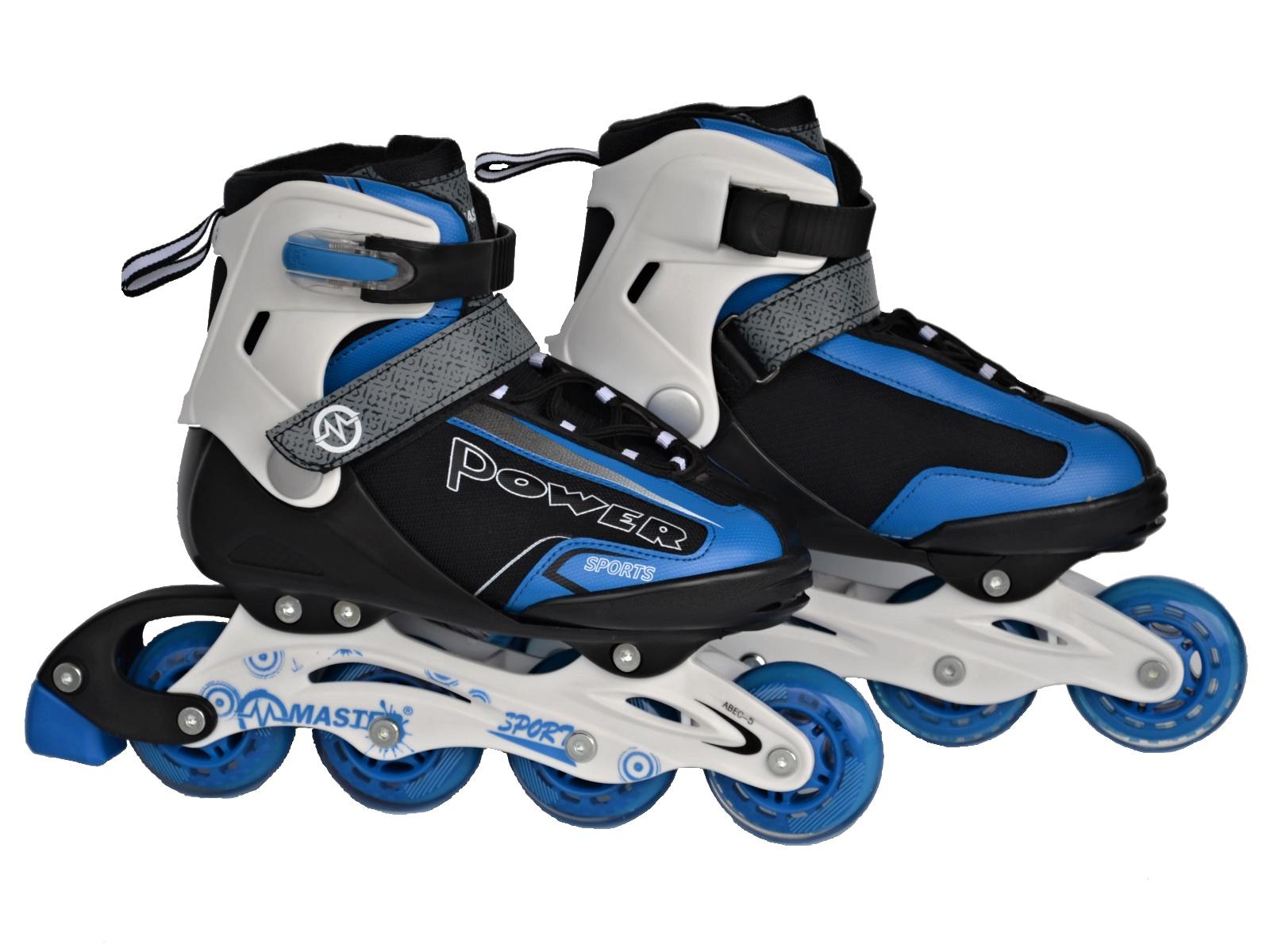 Detské korčule MASTER Maple 2v1 Blue