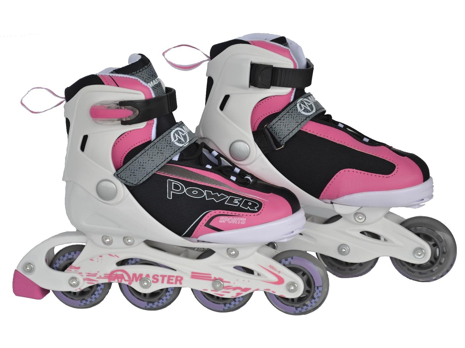 Detské korčule MASTER Maple 2v1 Pink