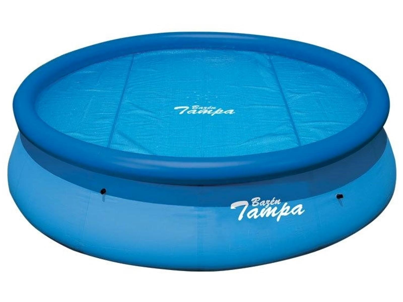 MARIMEX 10400146 solarna plachta 2,5 m na bazén Tampa 3,05m modrá