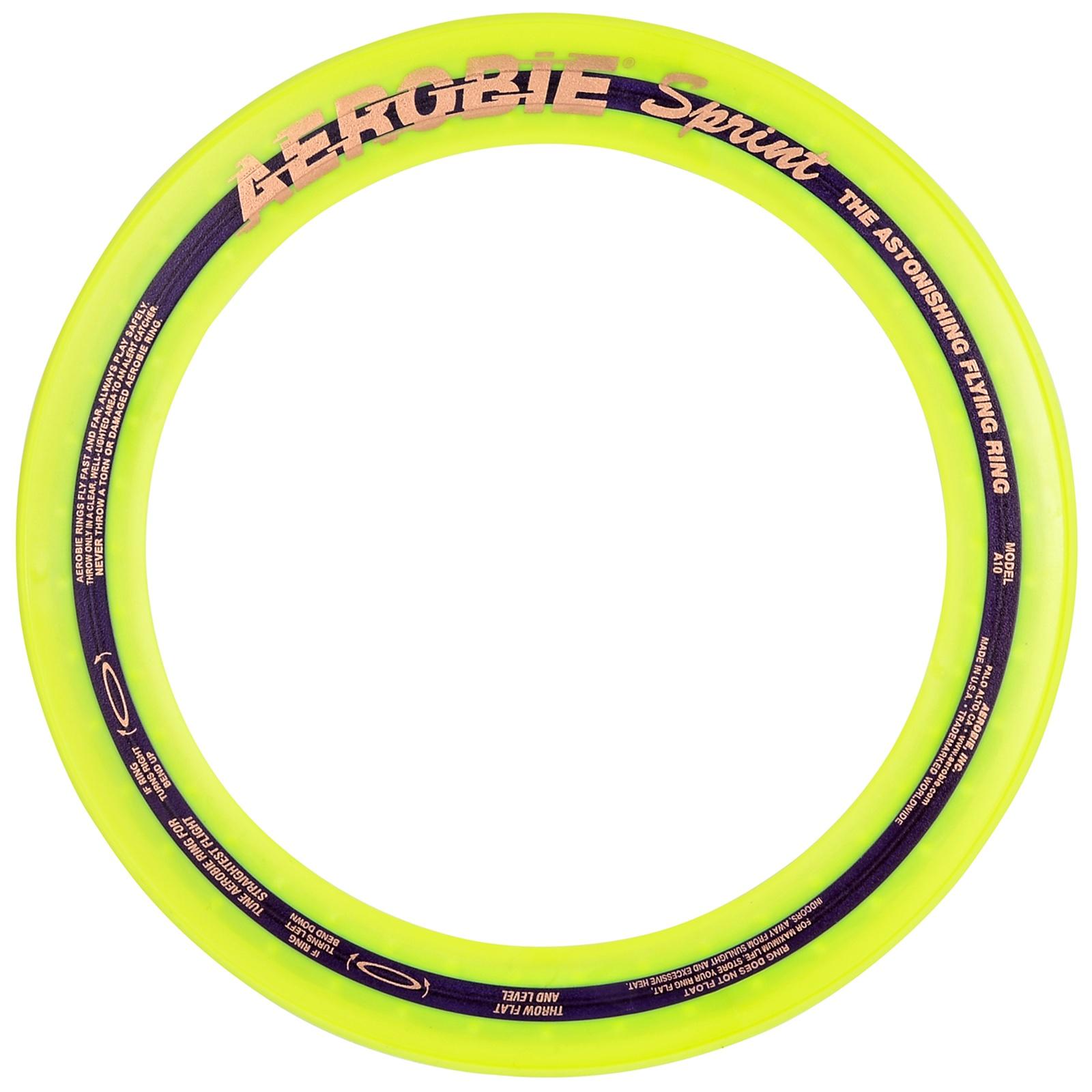 Aerobie Sprint Žltý
