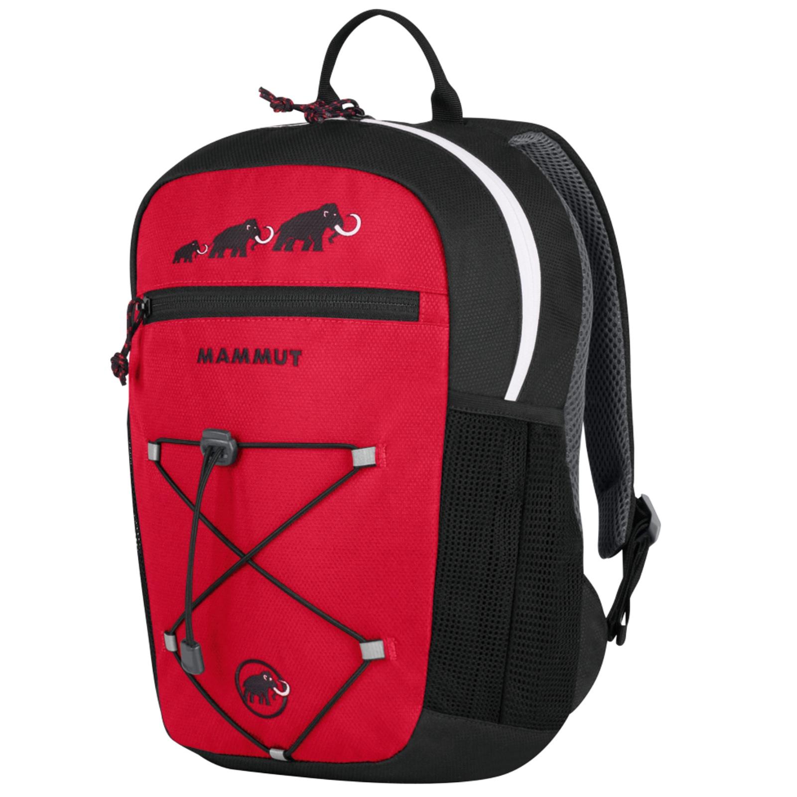 Detský batoh MAMMUT First Zip 8 - červeno-čierny