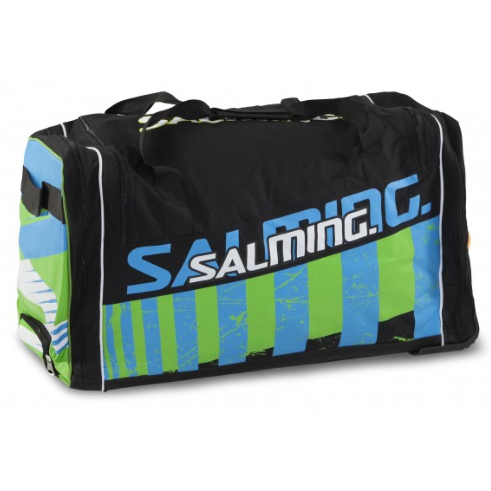 Hokejová taška SALMING Wheelbag INK, 120L-28, junior - čierna