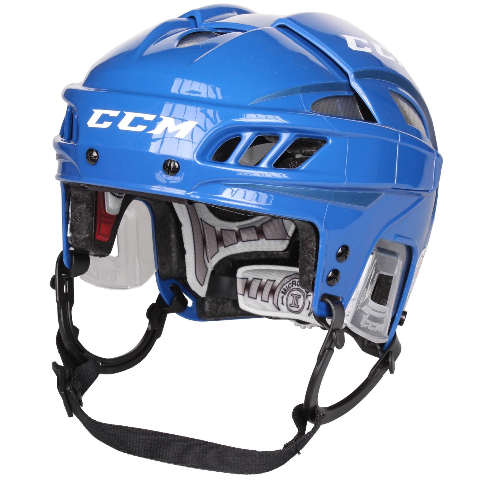 Hokejová helma CCM FitLite modrá - veľ. L