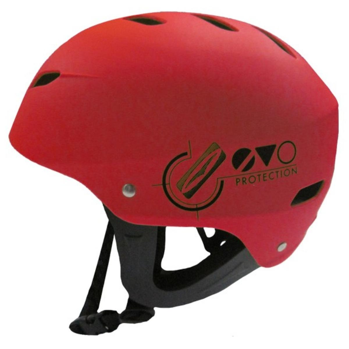 Helma GUL Evo Helmet červená - veľ. S-M