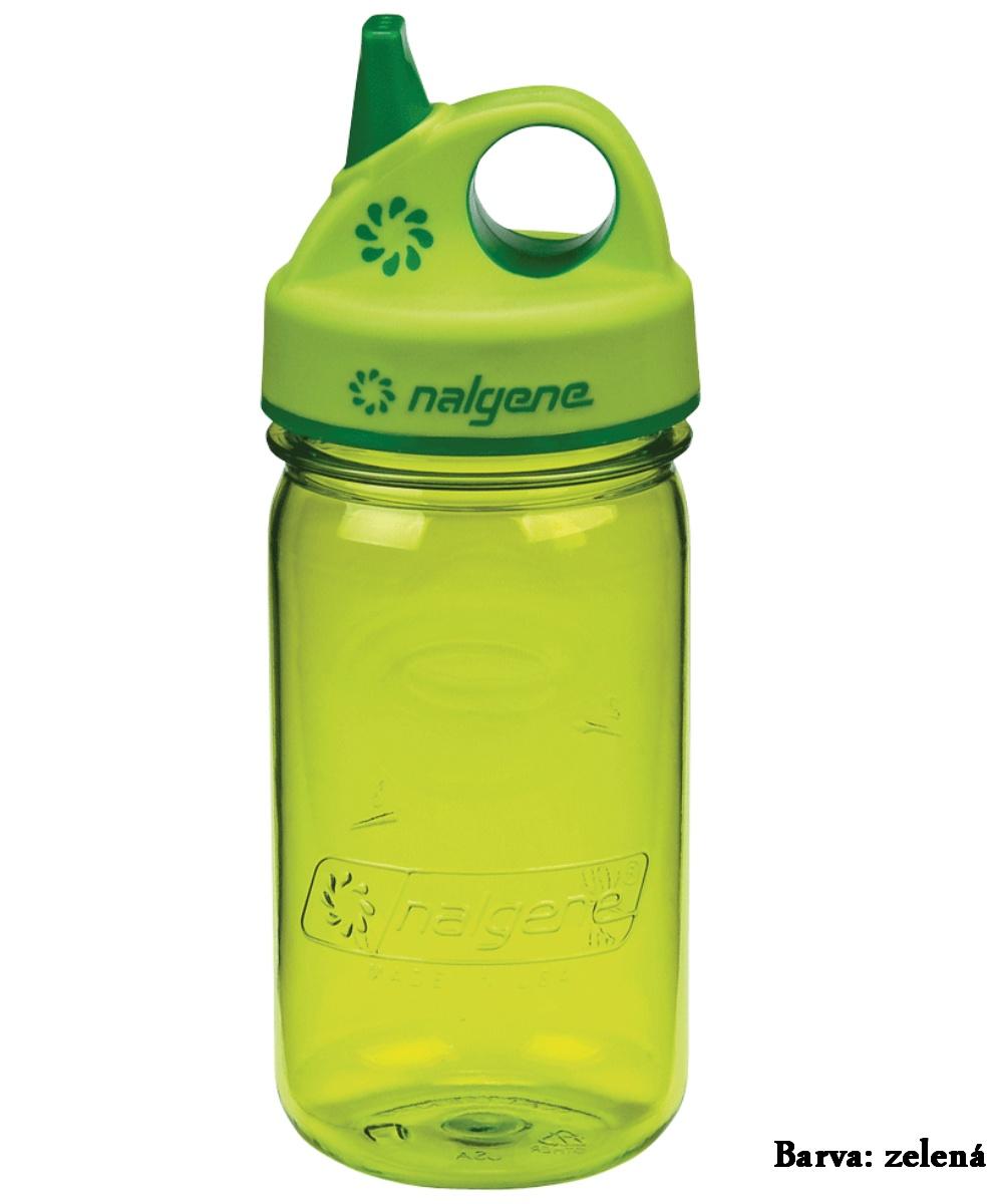 Fľaša NALGENE Kids Grip'n Gulp 0,350 l - zelená