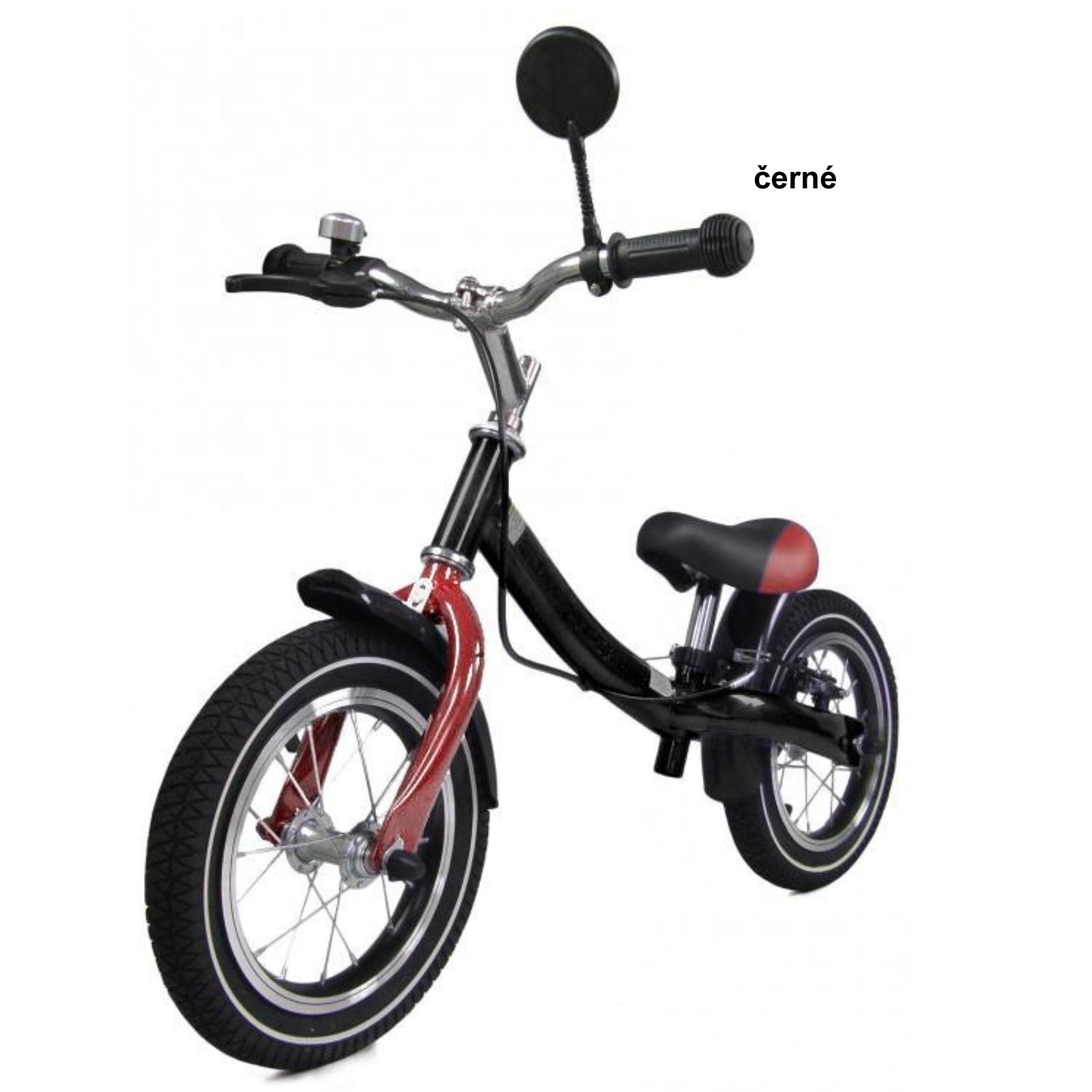 Detské odrážadlo SEDCO Rider Cross NR3 - čierne