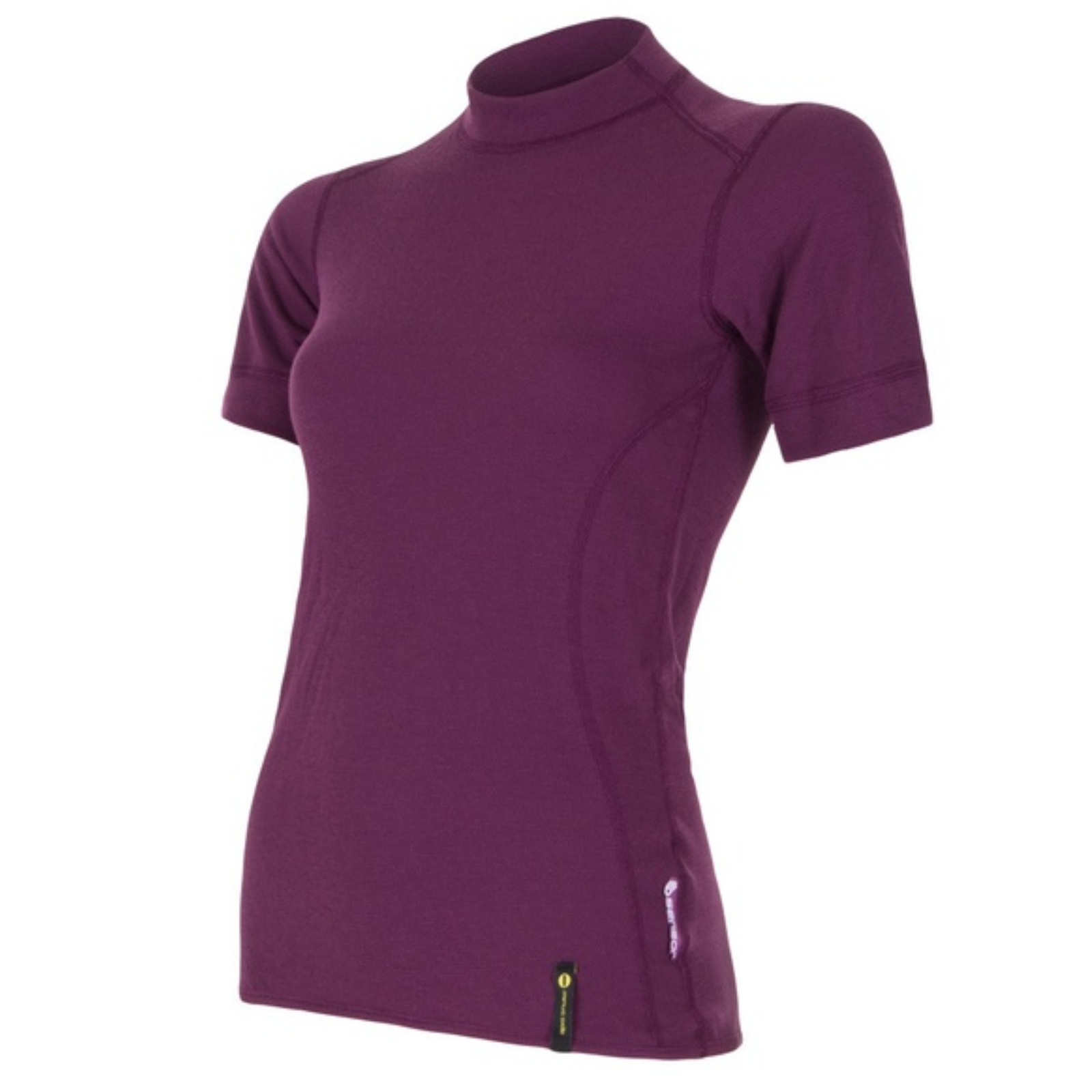 Tričko krátky rukáv SENSOR Double Face dámske fialové