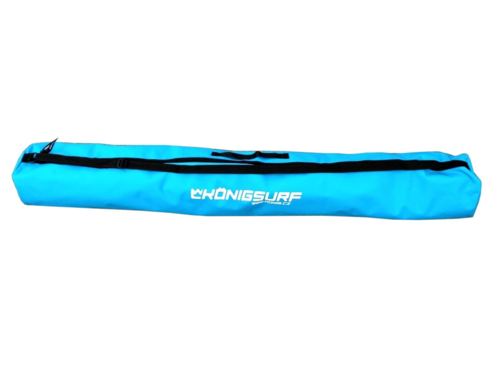 Obal na detské lyže KÖNIG Tubus Junior modrý - veľ. 120 cm