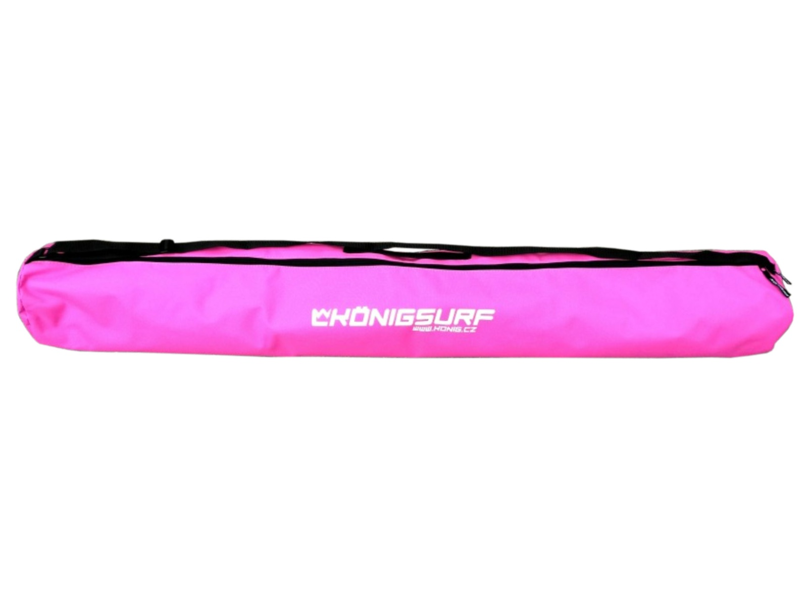 Obal na detské lyže KÖNIG Tubus Junior ružový - veľ. 120 cm
