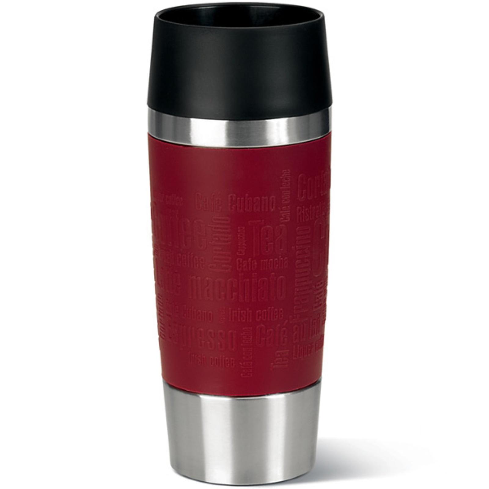 Termohrnček EMSA Travel Mug 0,36l - červený