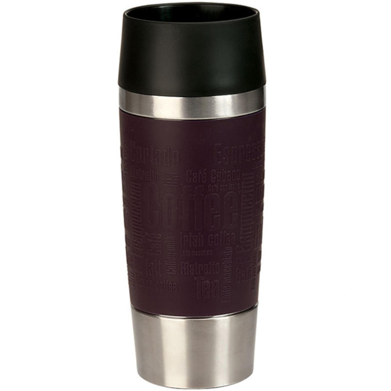 Termohrnček EMSA Travel Mug 0,36l - černicový