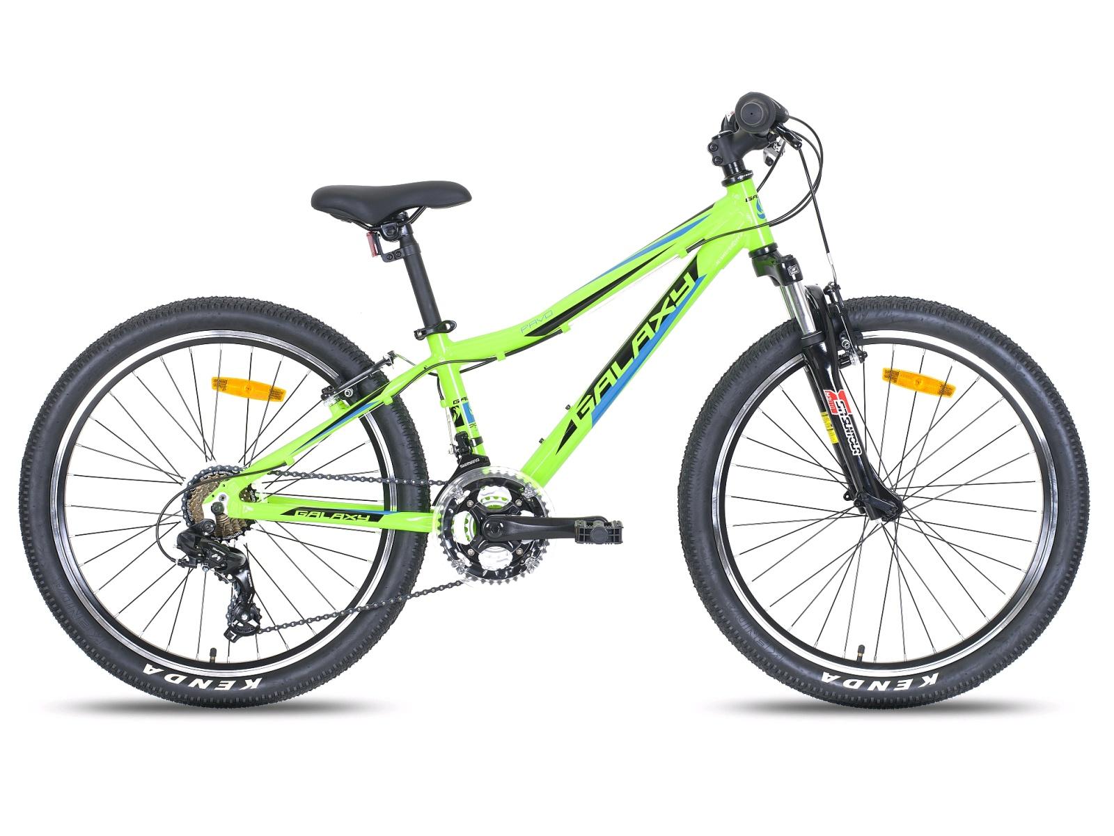 """Detský bicykel GALAXY Pavo 24"""" zelené"""