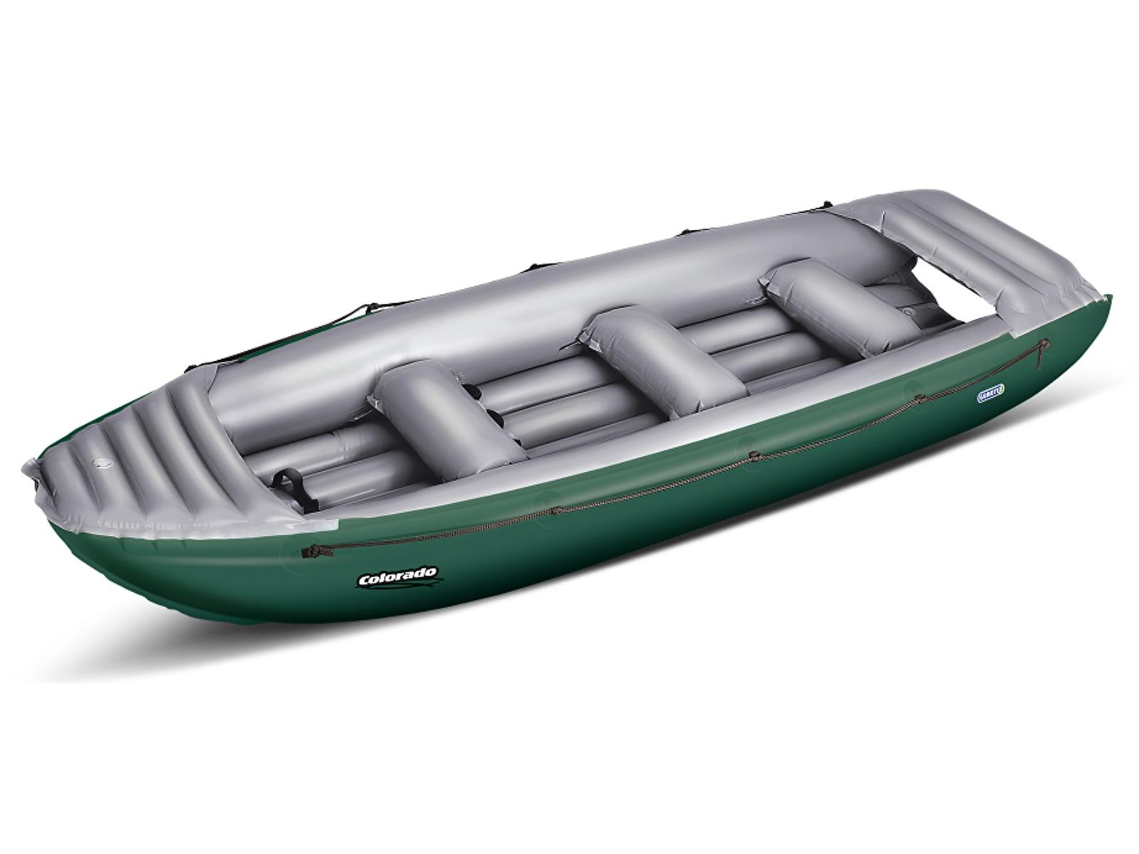 Nafukovací čln GUMOTEX Colorado 450 SET - zeleno-šedý