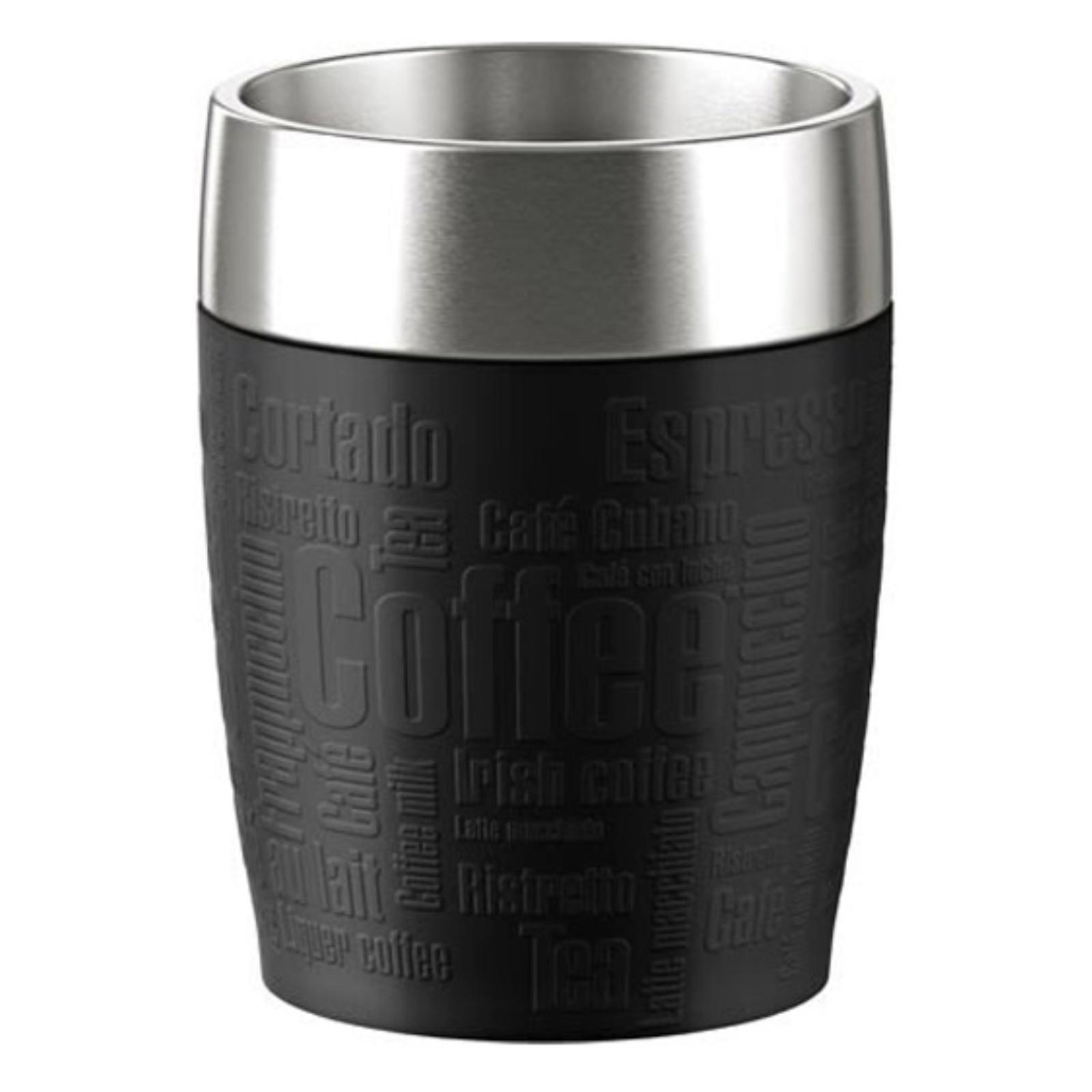 Termohrnček EMSA Travel Cup 0,2l - čierny