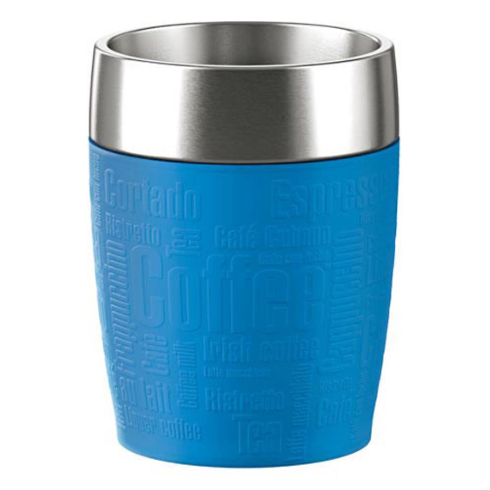 Termohrnček EMSA Travel Cup 0,2l - modrý