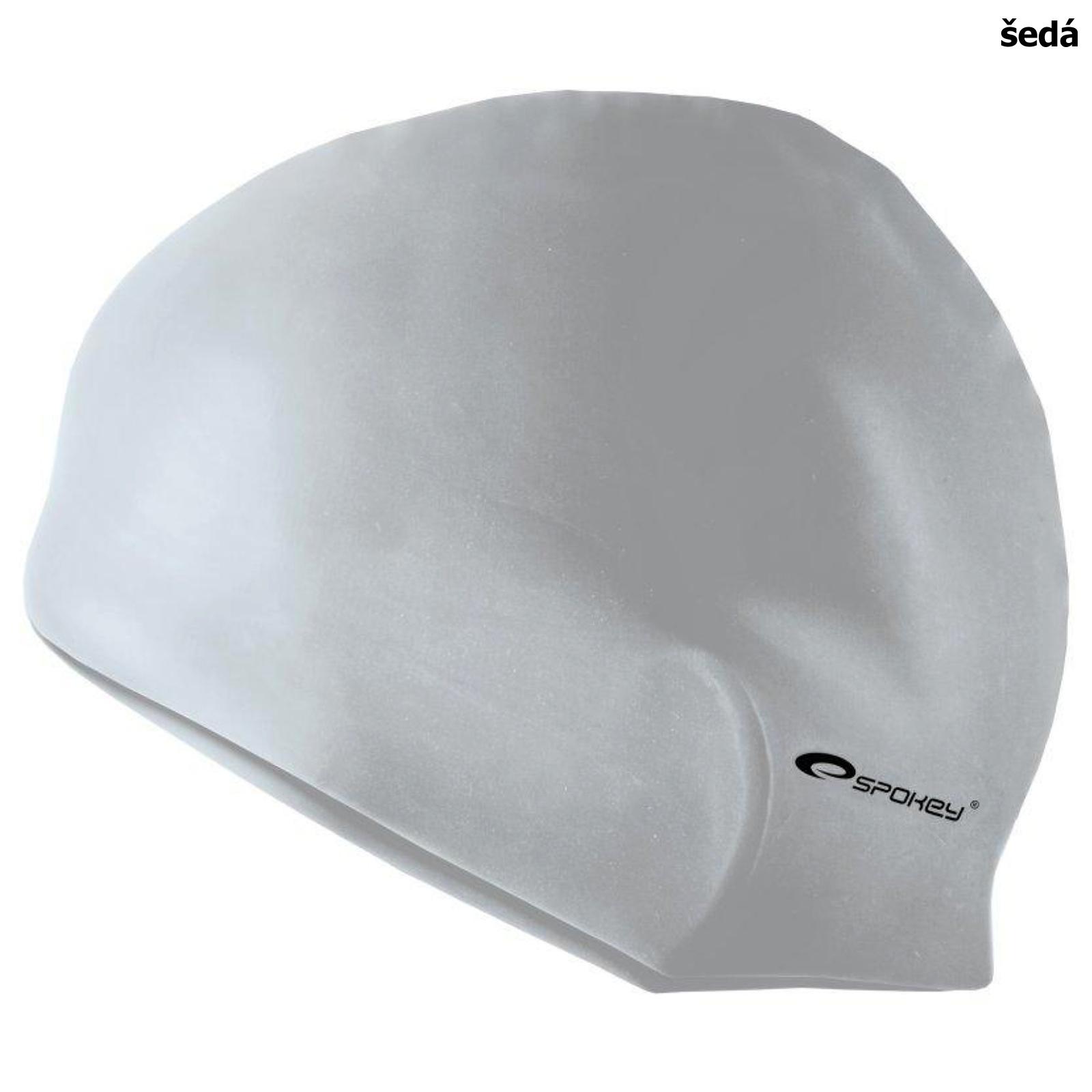 Plavecká čiapka SPOKEY Summer - šedá