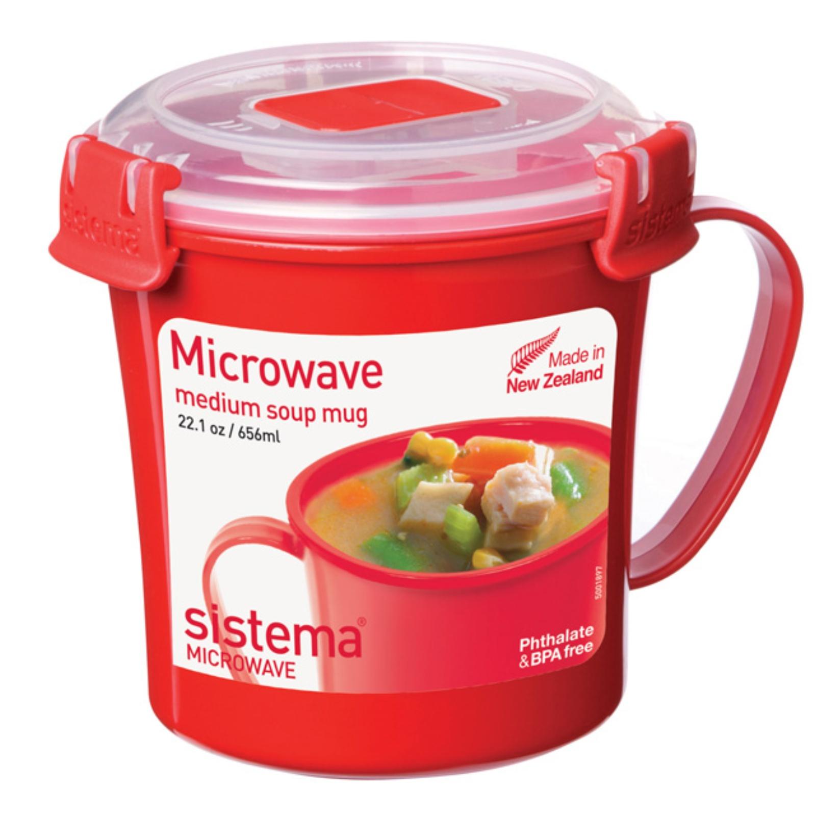 Hrnček na polievku SISTEMA 656 ml