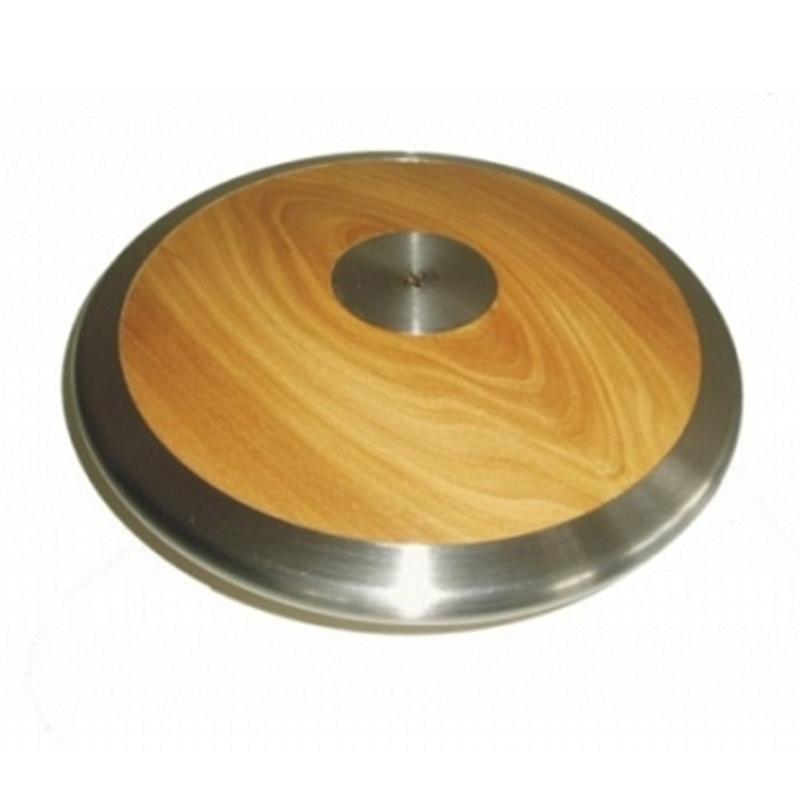 Atletický disk SEDCO závodný drevo-chróm 2 kg