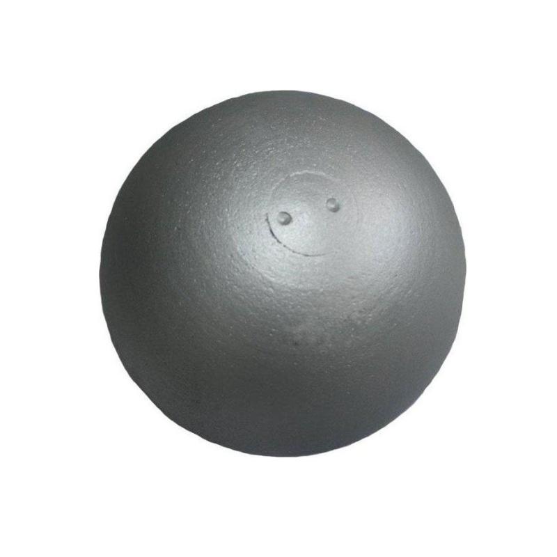 Atletická guľa SEDCO tréningová 2 kg dovažovaná - strieborná