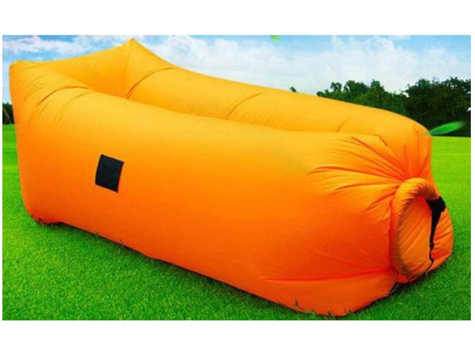 Nafukovací vak SEDCO Sofair Pillow Shape - oranžový