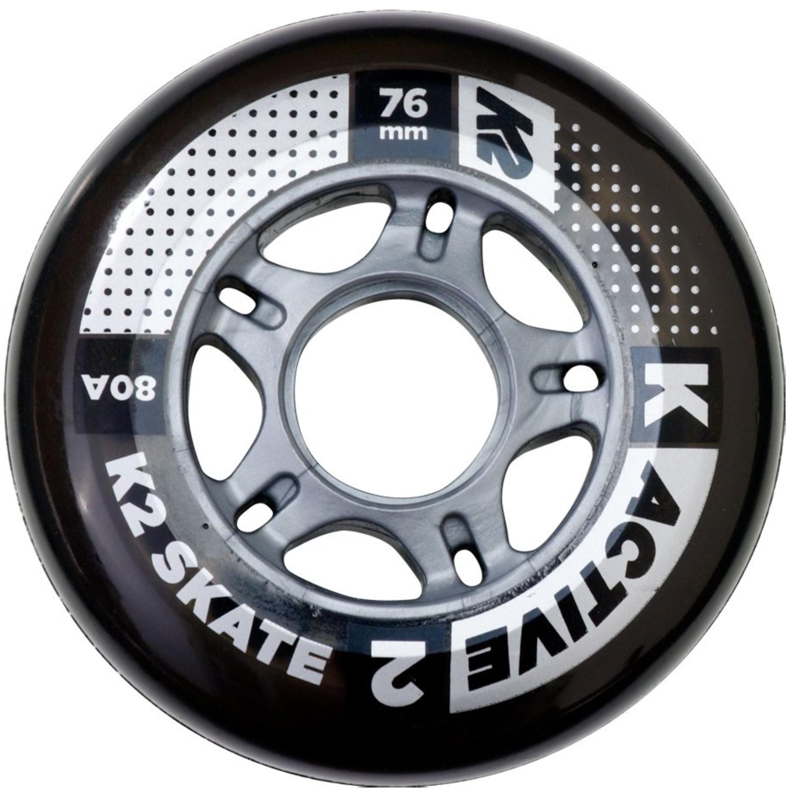 Kolieska K2 Active Wheel 76 mm