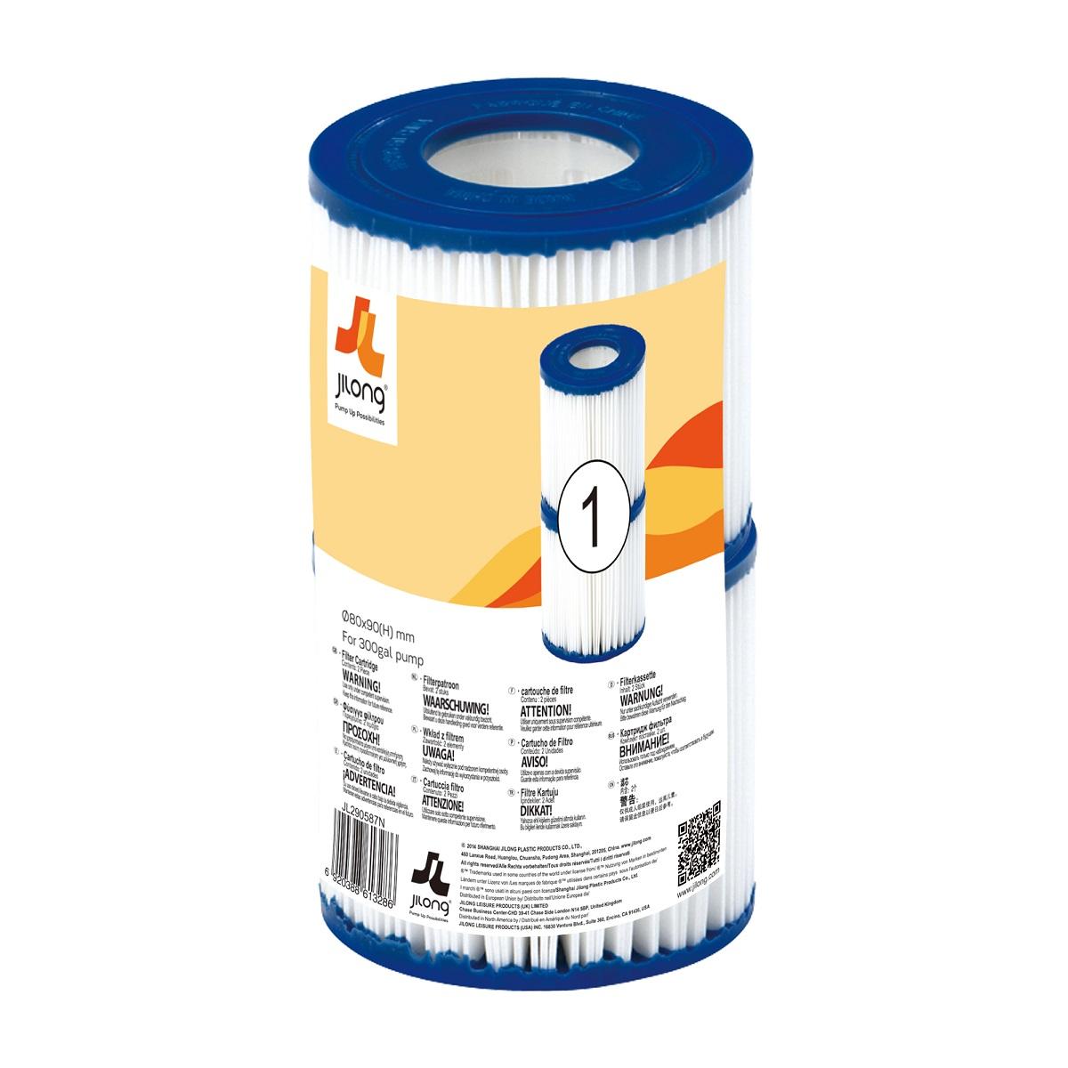 Kartuša pre filtráciu s prietokom 1.136 l - h