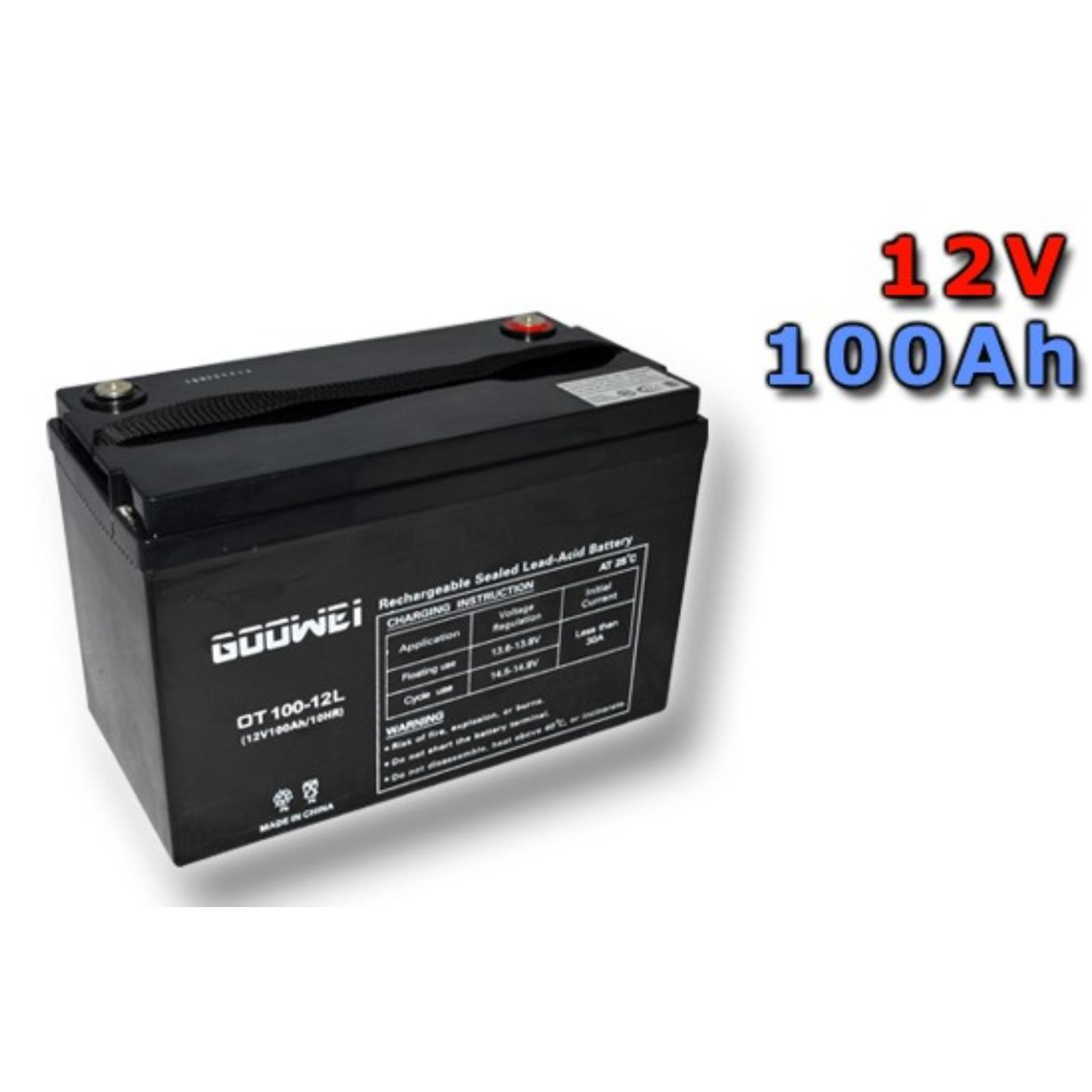 Trakční gelová baterie GOOWEI OTL100-12 100Ah