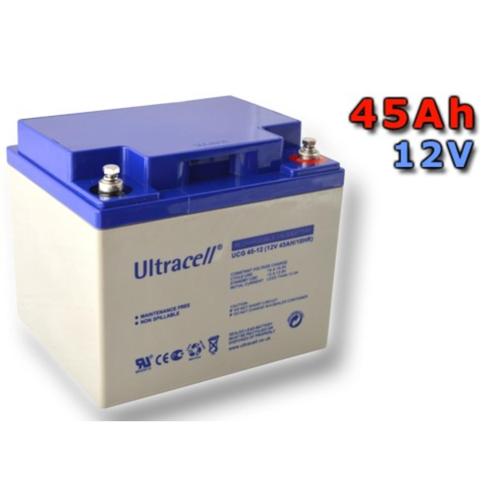 Trakčná gélová batéria ULTRACELL ULTRACELL UCG45-12 45Ah