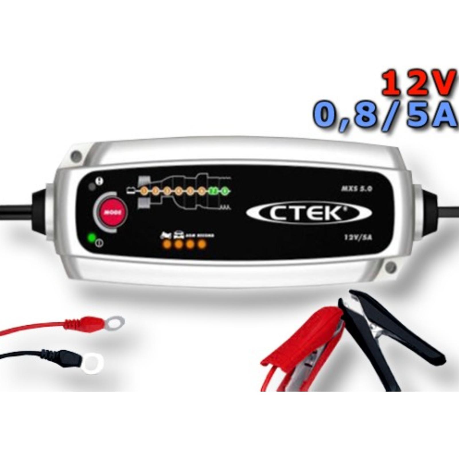 Nabíjačka CTEK MXS 5.0 s teplotným čidlom