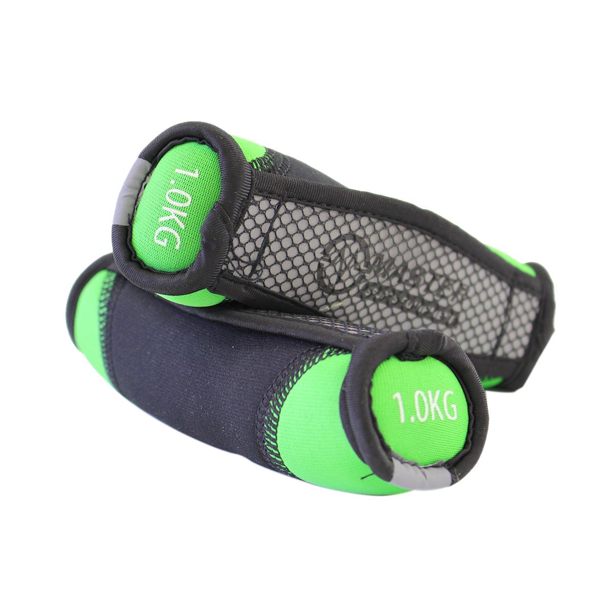 Neoprénové jednoručné činky MASTER Jogging 2 x 1 kg