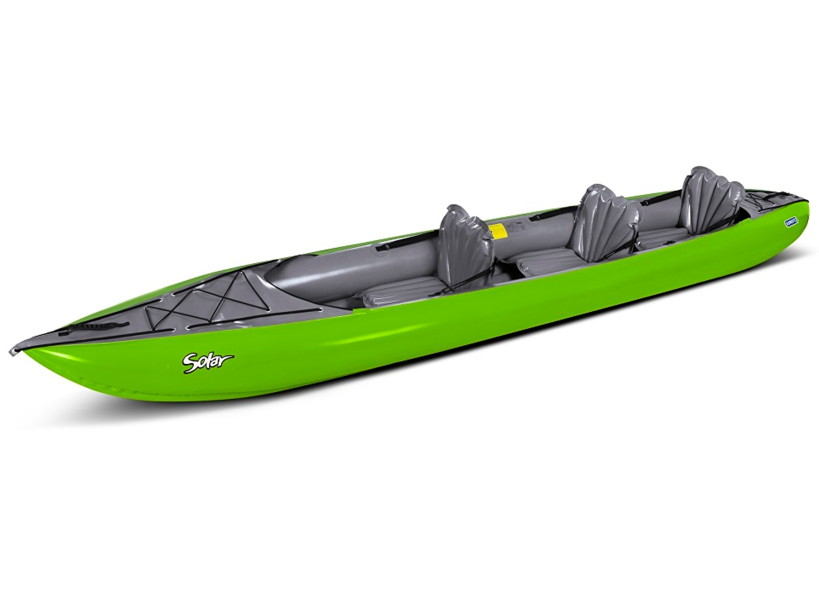 Nafukovací kajak GUMOTEX Solar 3 zeleno-šedý