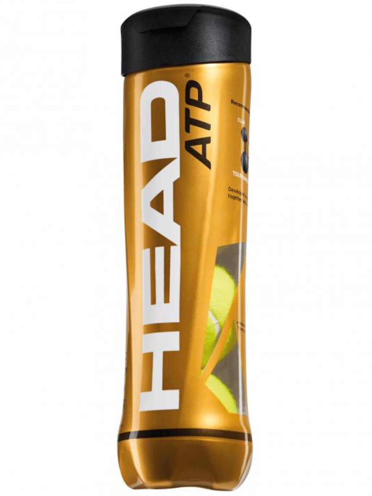 Tenisové loptičky HEAD ATP metal 4 ks