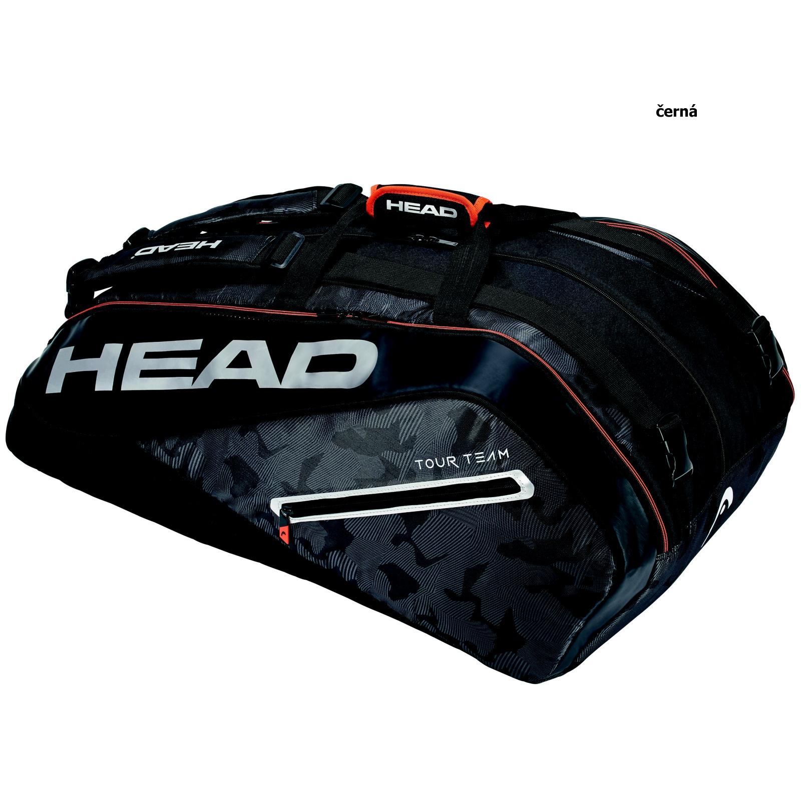 Tenisová taška HEAD Tour 12R Monstercombi - čierna