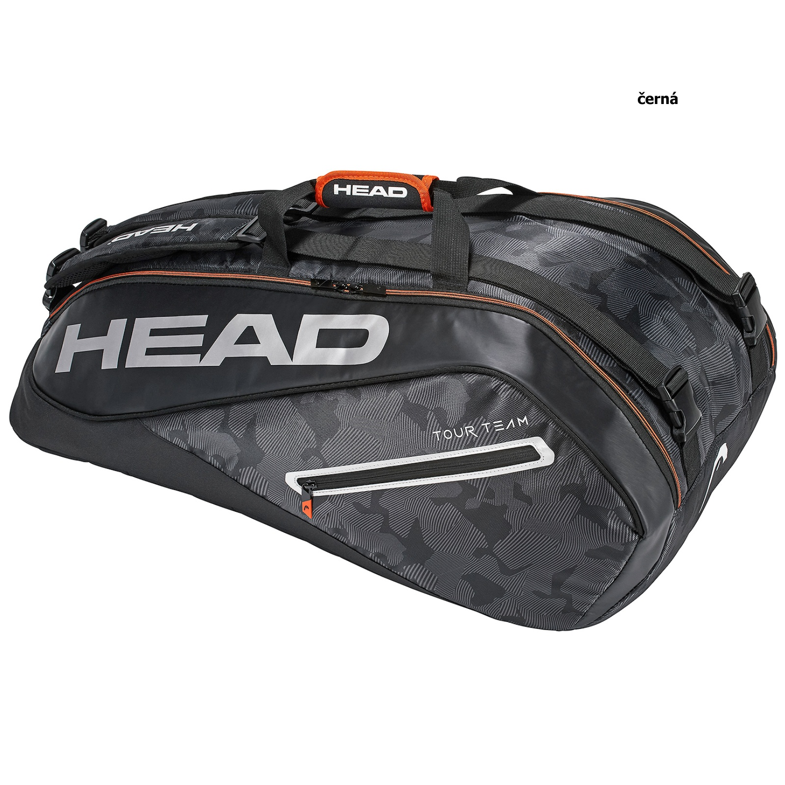 Tenisová taška HEAD Tour 9R Supercombi - čierna
