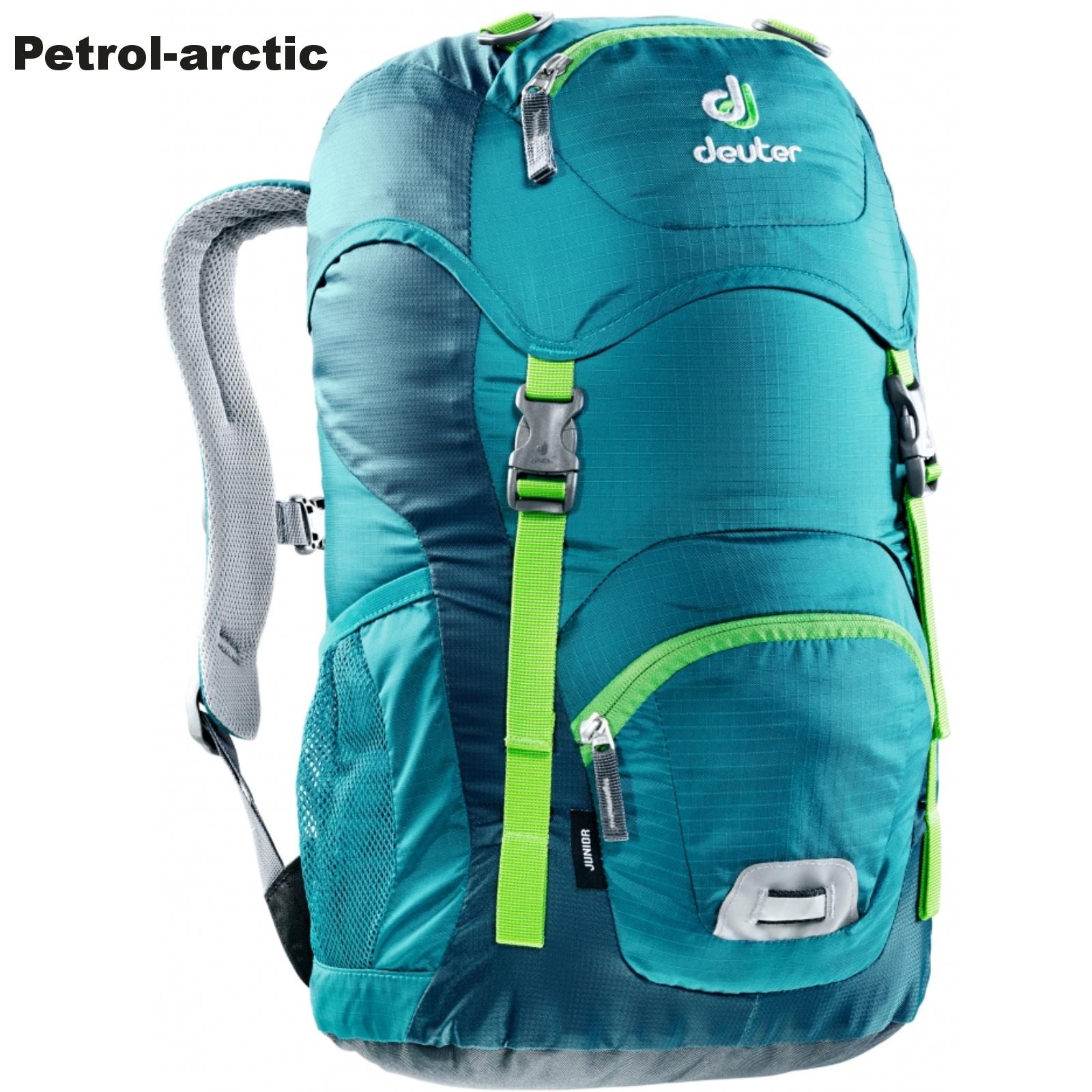 Detský batoh DEUTER Junior 18 l - petrol-arctic
