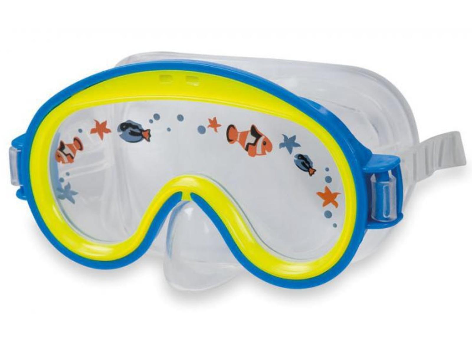 Potápačské okuliare Intex Mini Aviator - modré