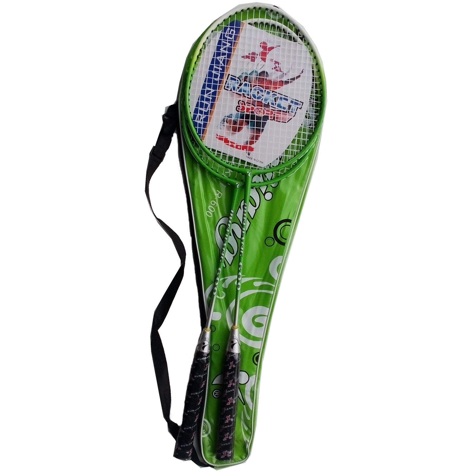 Badmintonová súprava UNISON De Luxe - zelená