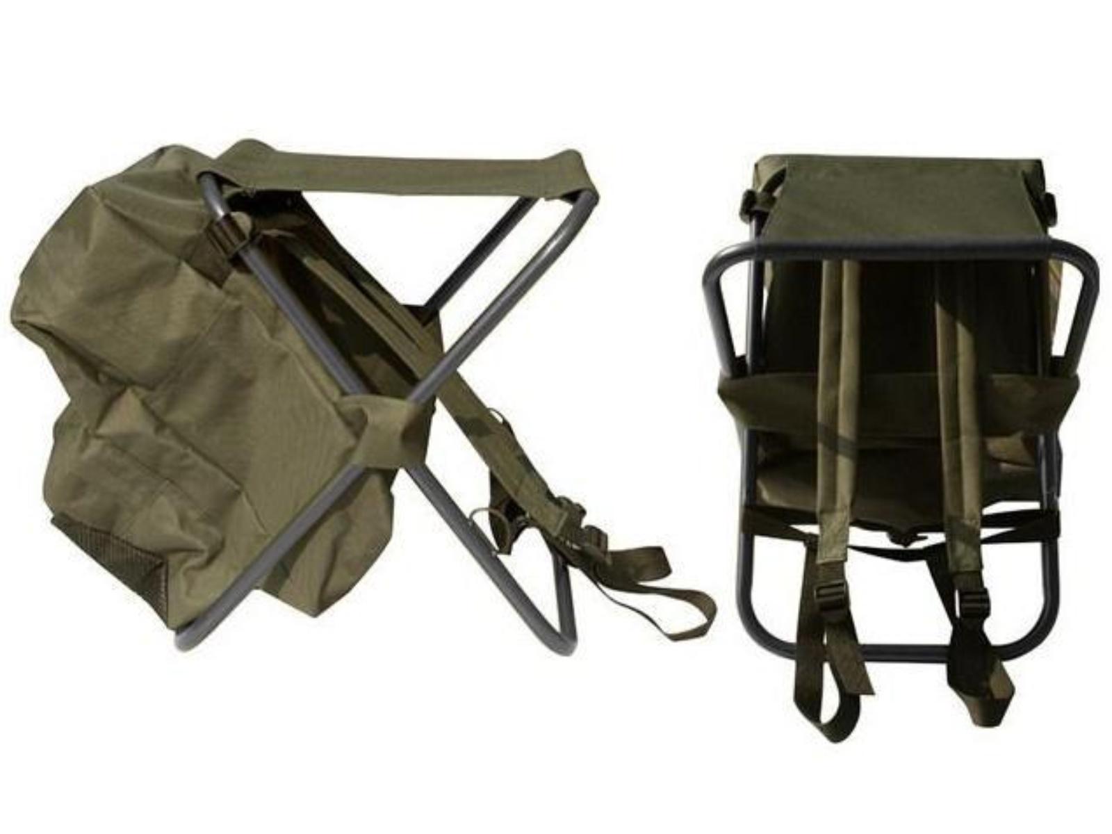 Kempingová skladacia stolička SEDCO s batohom