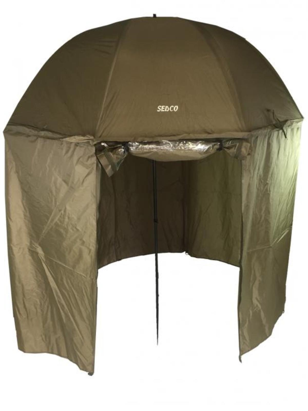 Rybársky dáždnik so zástenou - 170 cm